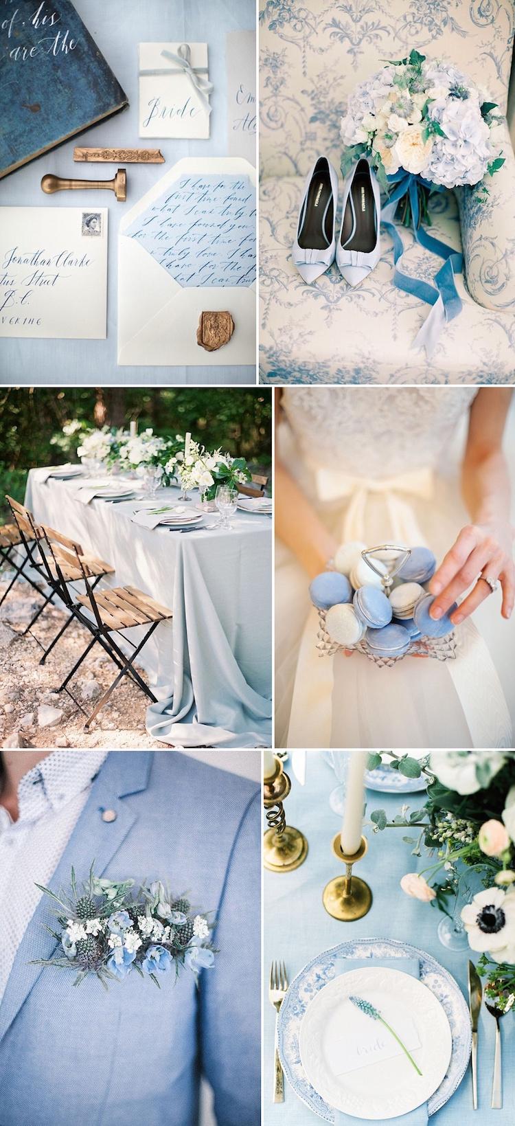 Matrimonio Azzurro Serenity : Azzurro serenity e rosa quartz perfetti per un matrimonio